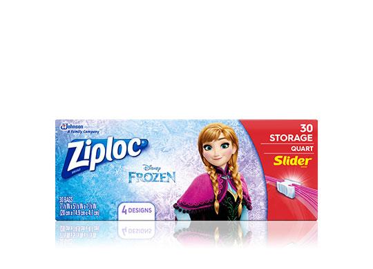 Ziploc 174 Disney Frozen Snack Bag Ziploc 174 Brand Sc Johnson