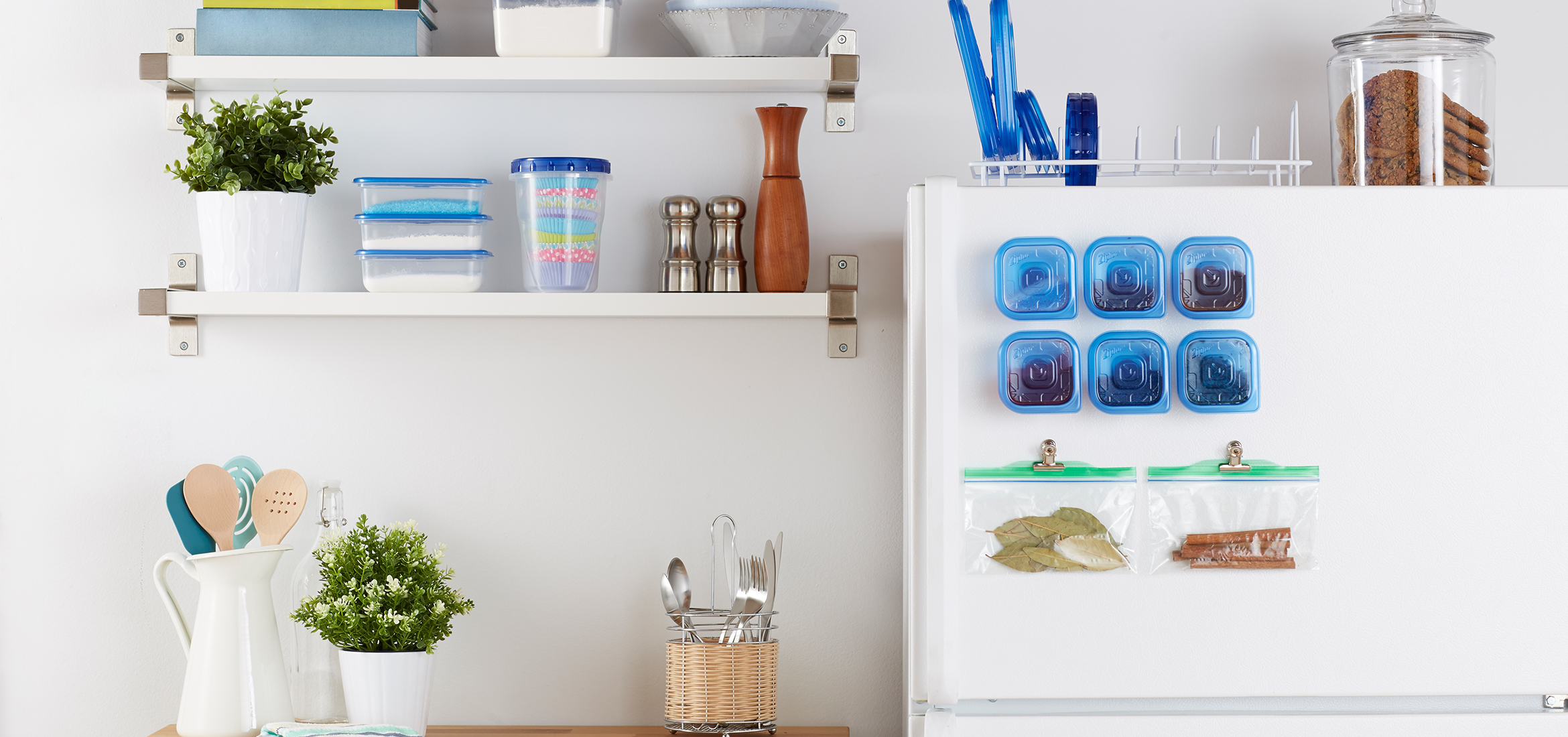 3 Tips for Simple Kitchen Storage
