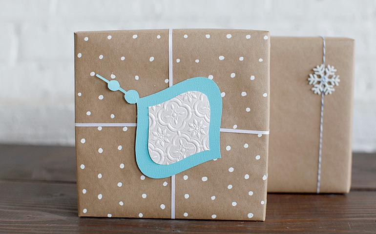 Ziploc® 5 Handmade Giftwrap IdeasZiploc® brand SC Johnson