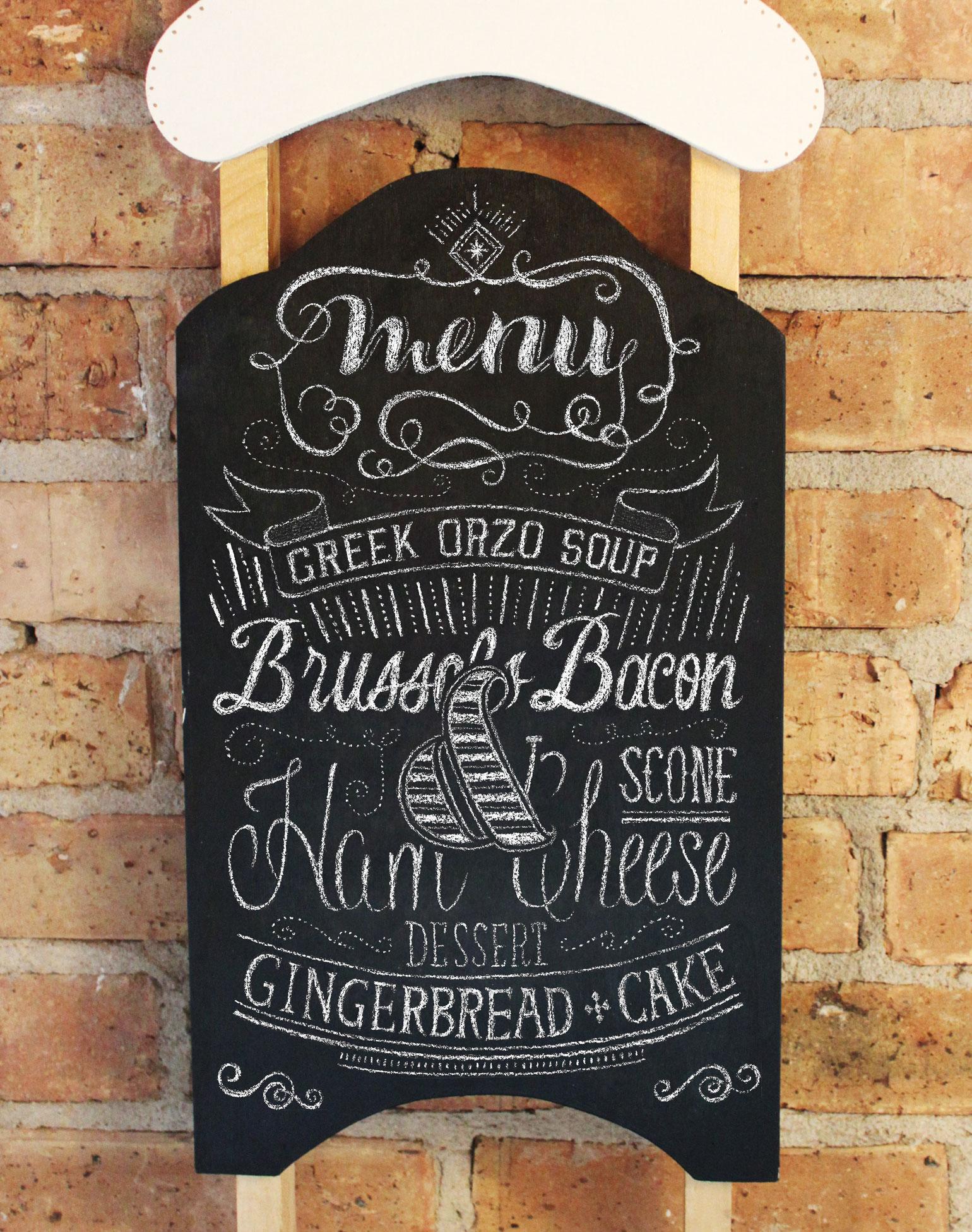 Chalkboard In Kitchen Ziplocar 8 Ways To Spread Some Holiday Cheer Ziplocar Brand Sc