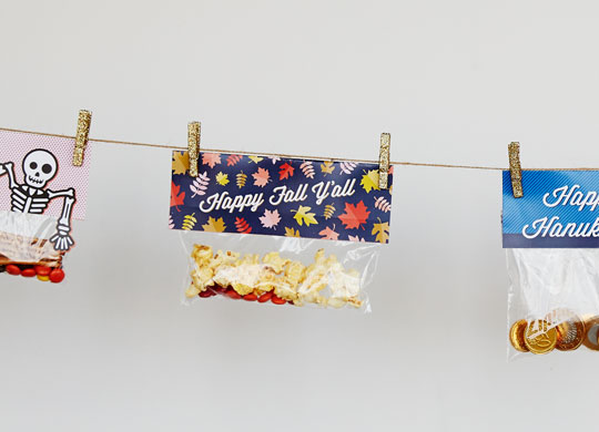 Easy-Peasy Bag Toppers