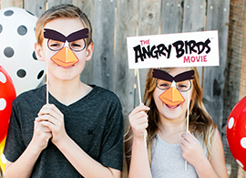 Flock Together for The Angry Birds Movie Party