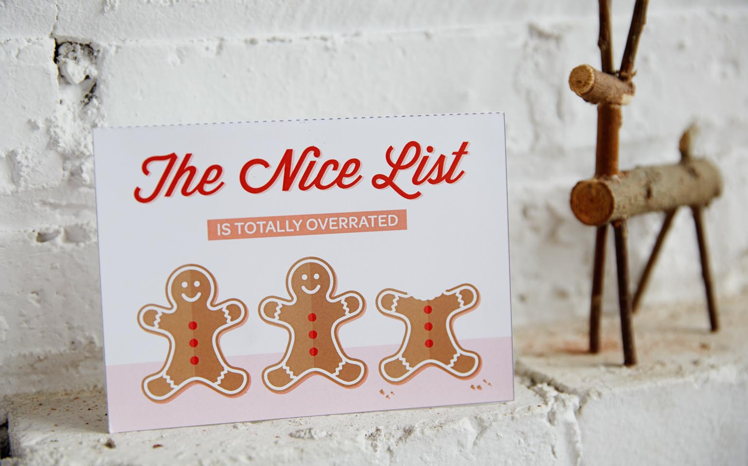 """Let's Be Honest"" Holiday Cards"