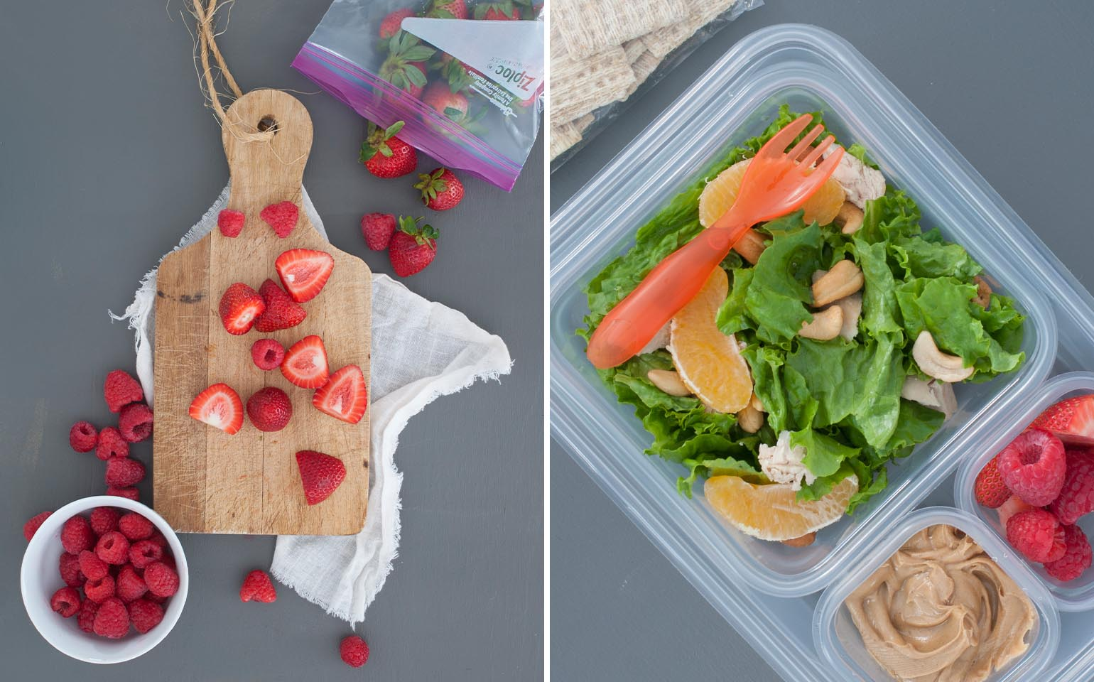how to make lunches for the week