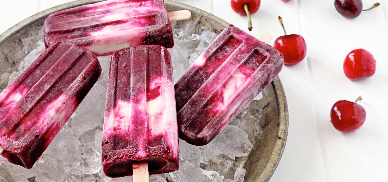 Ziploc®   Beet Cherry Popsicles  Ziploc® brand   SC Johnson