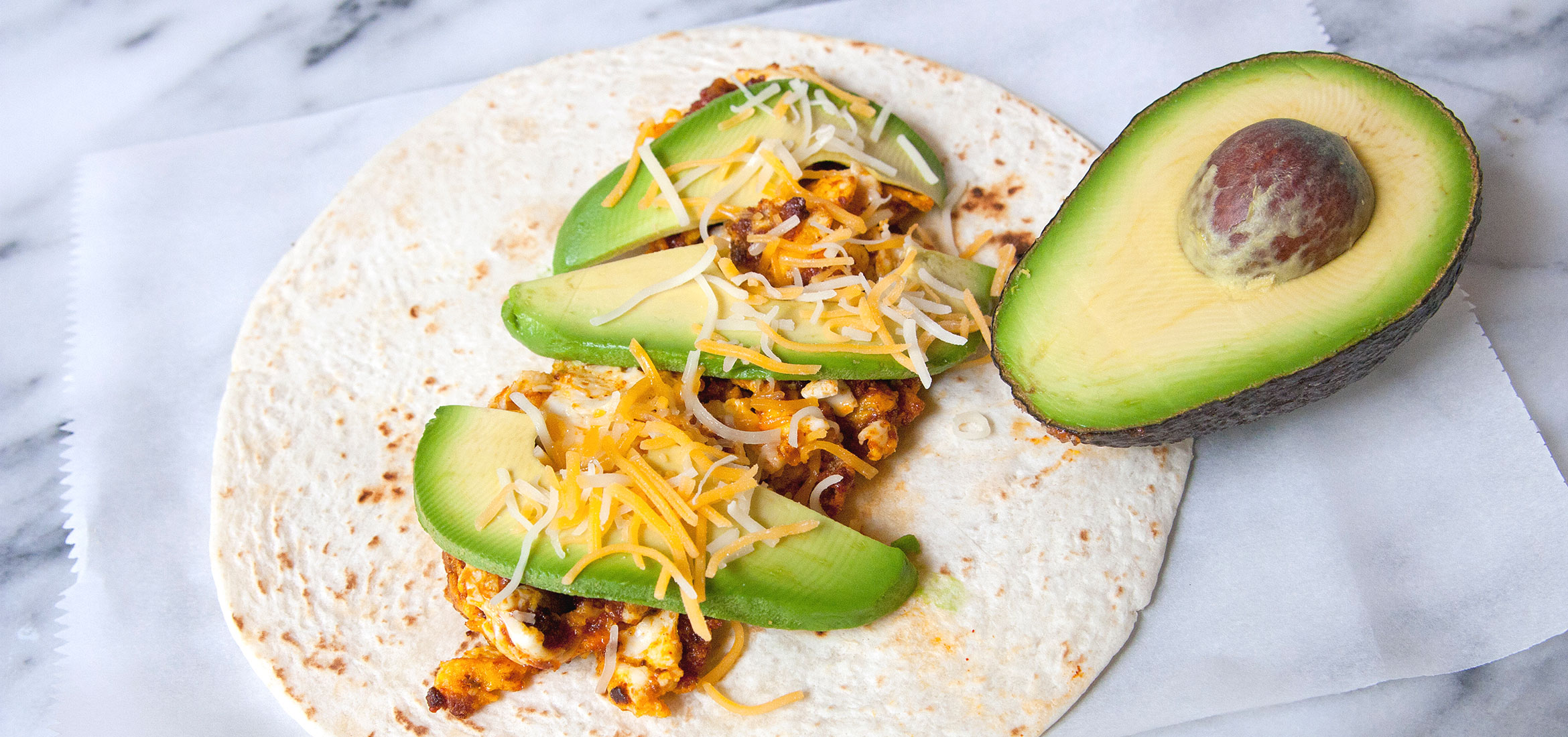 Home . Recipes . Breakfast . Breakfast Burritos with Chorizo and Eggs