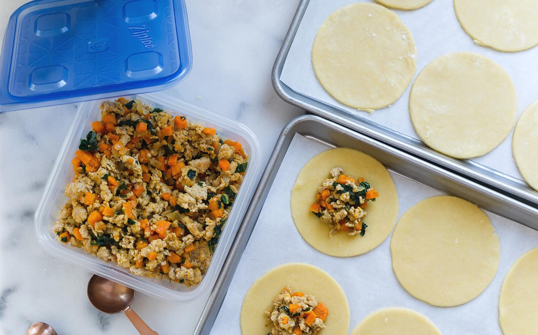 how to make sweet potato empanadas