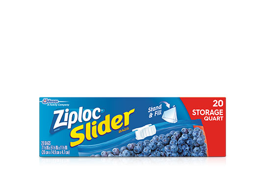 Ziploc 174 Slider Storage Bags Gallon Ziploc 174 Brand Sc