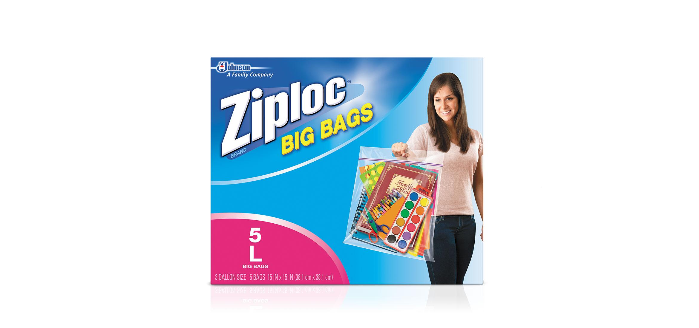Ziploc 174 Big Bags Large Ziploc 174 Brand Sc Johnson
