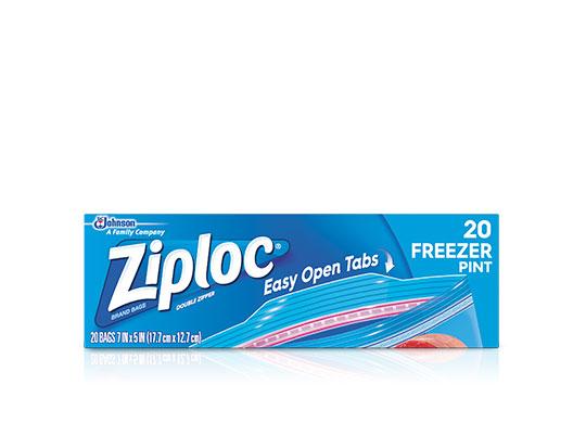 Ziploc 174 Freezer Bags Two Gallon Ziploc 174 Brand Sc Johnson