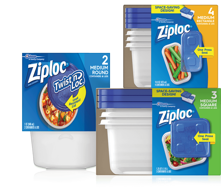 Ziploc 174 Everyday Solutions Ziploc 174 Brand Sc Johnson