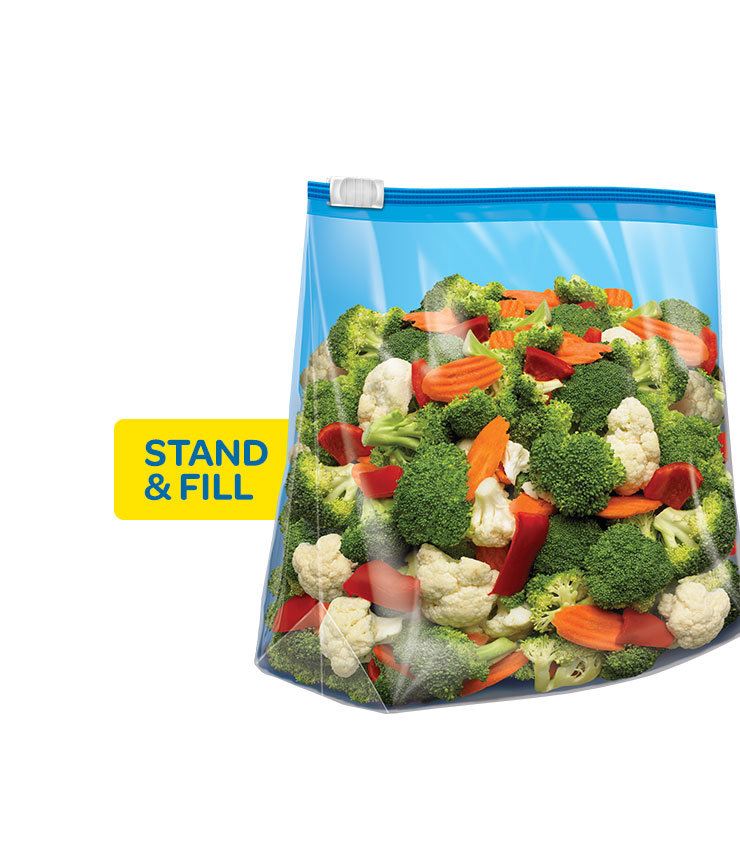 Ziploc® | Slider Freezer Bags Gallon | Ziploc® brand | SC